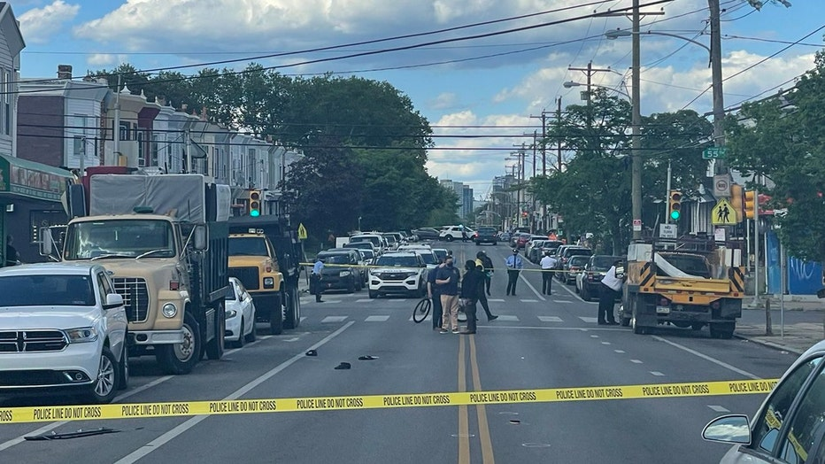 55th and Kingsesssing Ave shooting