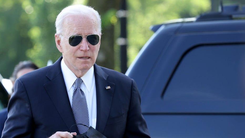 90379fd0-President Biden Departs The White House For Wilmington, DE