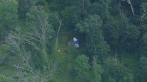 Small plane crashes in wooded area near homes in Doylestown