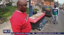 Community hopes coffin in Philadelphia neighborhood encourages people to make different decisions before turning to violence