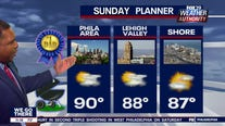 Weather Authority: Mostly sunny Father's Day with chance of p.m. rain