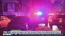 Man stable after shooting in Crescentville