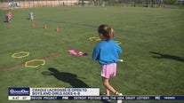 NXT Cradle Lacrosse Camp teaches lacrosse skills to younger children