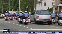 Processional held in Northeast Philadelphia to honor veteran firefighter who died unexpectedly