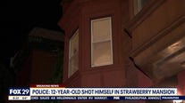 12-year-old boy shot himself in leg in Strawberry Mansion, police say