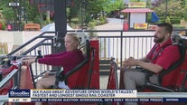 Six Flags Great Adventure opens world's tallest, fastest ad longest single rail coster