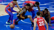Young scores 35, Hawks top Embiid, Sixers 128-124 in Game 1