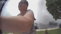 'I was in survival mom mode': Woman rushes to save son and dogs during fire, explosions in Montgomery County
