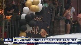 Gun violence continues to surge in Philadelphia