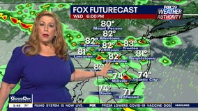 Weather Authority: Humidity continues with another round of late day thunderstorms