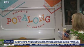 Lil Pop Shop & Weckerly's Ice Cream joined forces during the pandemic