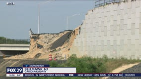 I-295 in Bellmawr remains an issue after retaining wall collapse