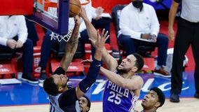 Without Joel Embiid, 76ers roll past Wizards and into 2nd round