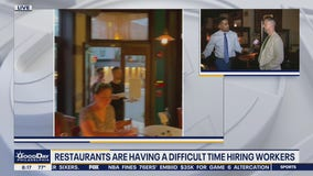 Restaurants are having a difficult time hiring workers