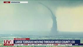 Large tornado touches down in NE Colorado, shelter-in-place issued