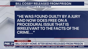 Montgomery County District Attorney Kevin Steele releases statement after Bill Cosby's conviction overturned