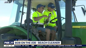 Bob on the Job: Wildwood Beach Cleaner