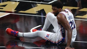 Embiid nursing knee injury as series shifts to Philadelphia for pivotal fifth game