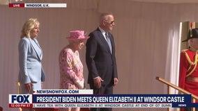 Biden meets with Queen Elizabeth II at Windsor Castle