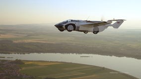 Flying car with BMW engine completes 1st inter-city test flight