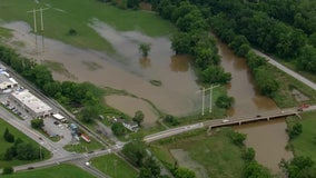 Impending showers could cause floodwaters to rise again in Chester, Delaware counties