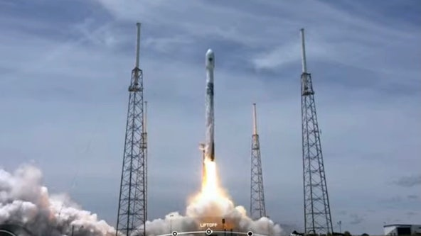 Liftoff! SpaceX launches GPS satellite for U.S. Space Force