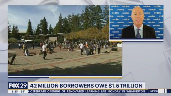 42 million borrowers owe $1.5 trillion