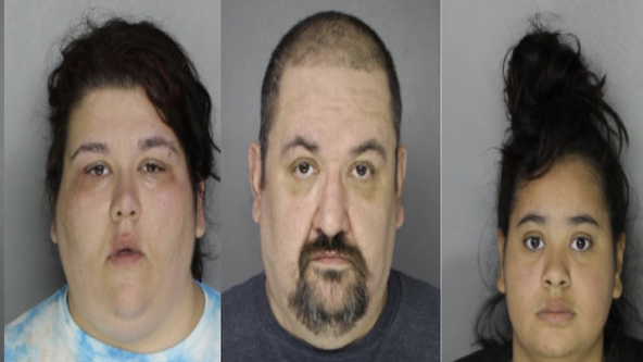 3 captured on video assaulting an elderly woman in Bensalem, police say