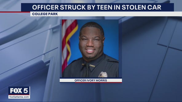 'I didn't want to take nobody's kid away from them': Officer recounts being run over by teen driver