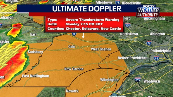 Weather Authority: Severe thunderstorm watches, warnings as storms move in with possible heavy downpours