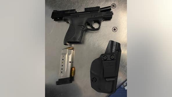 Delaware County man had loaded handgun in carry-on bag at Newark Airport, police say