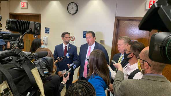 GOP election bill sponsor takes case to Wolf news conference