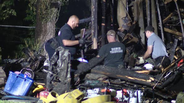 Suspect's body recovered after standoff led to explosions, fire in Lower Providence Twp.