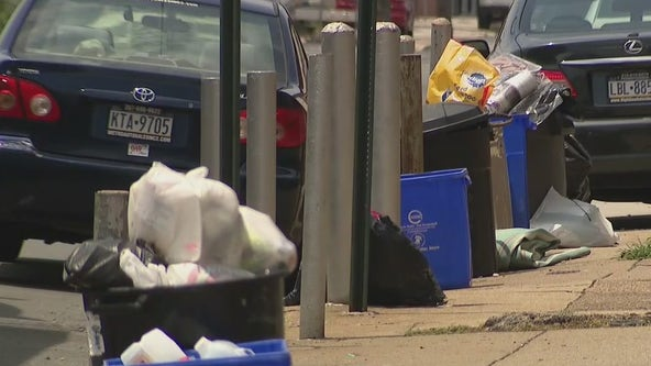 'This is no way to live': Trash pickup in Philly is behind; residents fed up with slow service