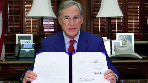 Texas governor signs law prohibiting businesses from requiring vaccine  passports