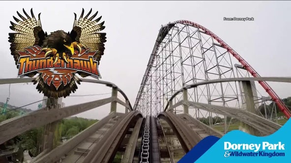 Dorney Park's nearly 100-year-old roller coaster 'ThunderHawk' gets historic recognition