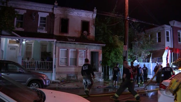 Child, baby hurt during fire at rowhome in Nicetown, officials say
