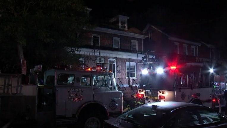 E 5th Street fire