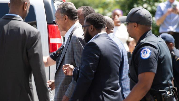 Jesse Jackson arrested in DC