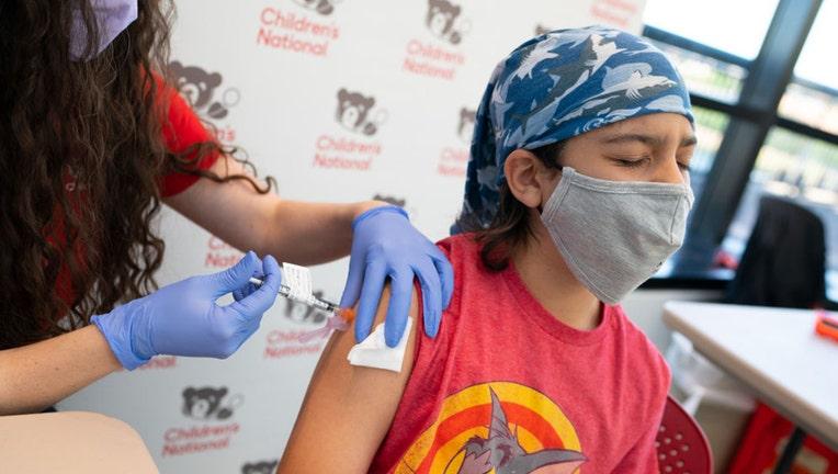 Vaccine teen