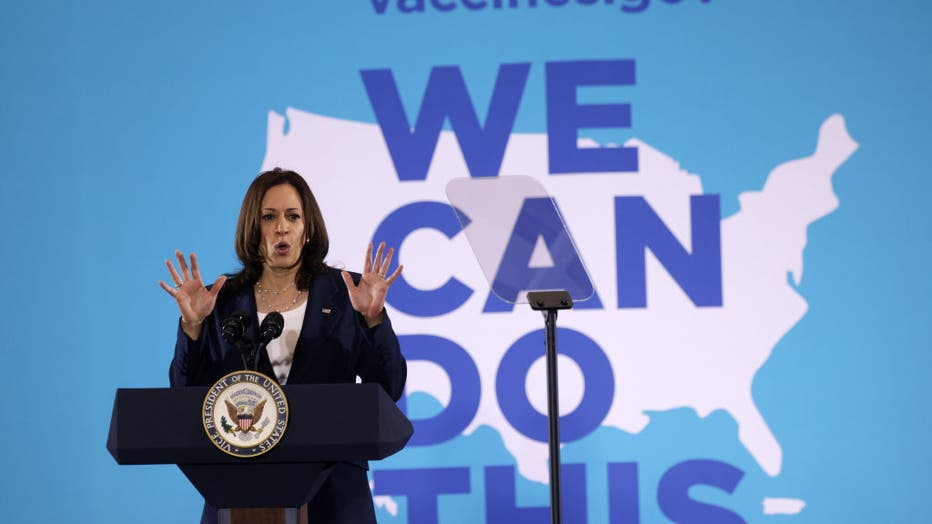 Vice President Harris Travels To South Carolina To Speak On Vaccines