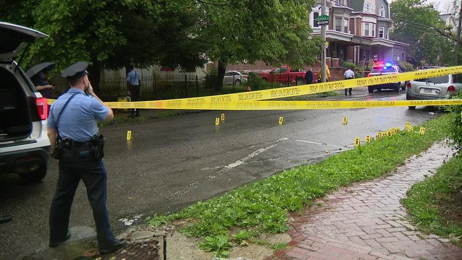 Morton Street shooting