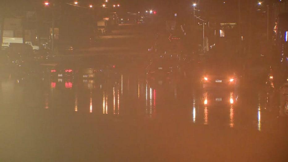 Passyunk and S 63rd St flash flooding