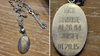 Local woman reunited with meaningful pendant necklace found on sidewalk in Marlton