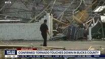 Bucks County car dealership ripped apart during tornado