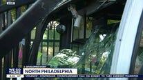 At least 6 hurt in SEPTA bus crash in North Philadelphia