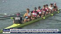 Camp Kelly: Rowers train for Henley Royal Regatta
