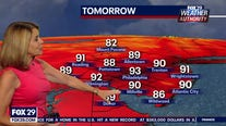 Weather Authority: Sunday, 6 p.m. update