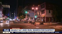 Hit-and-run suspect chased into Montgomery County