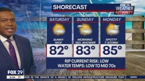 Weather Authority: 8 a.m. Saturday update